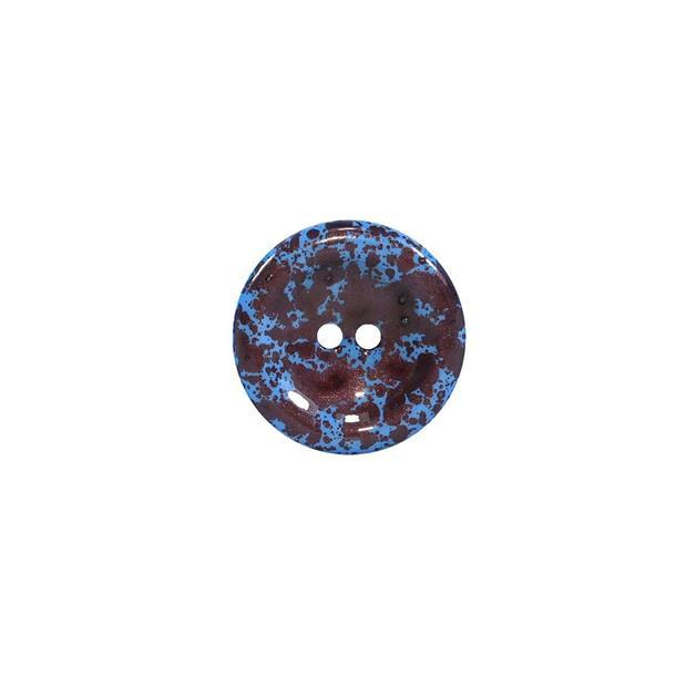 Boton degrade t/28 azul+marron