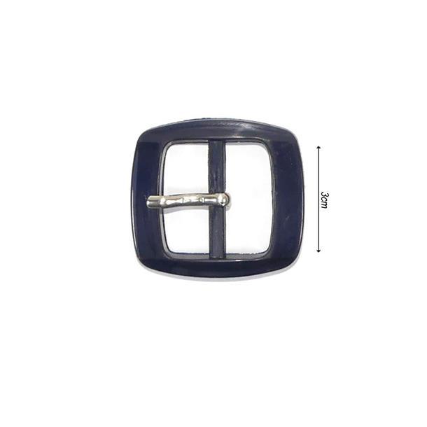 Hebilla plastica rect.30mm.mº