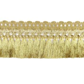 Fleco mitra 8cm. dorado