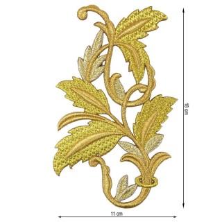 Aplic.rama hojas mediana 11x18