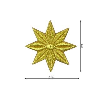 Aplic.estrella 8puntas 5x5