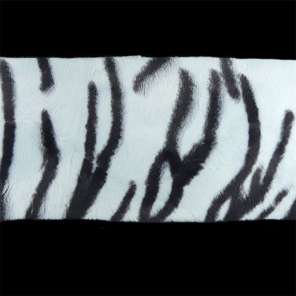 Piel Pelo Tigre Blanco 10cm