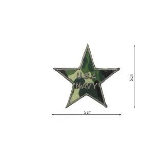 Parche estrella usa navy camuf