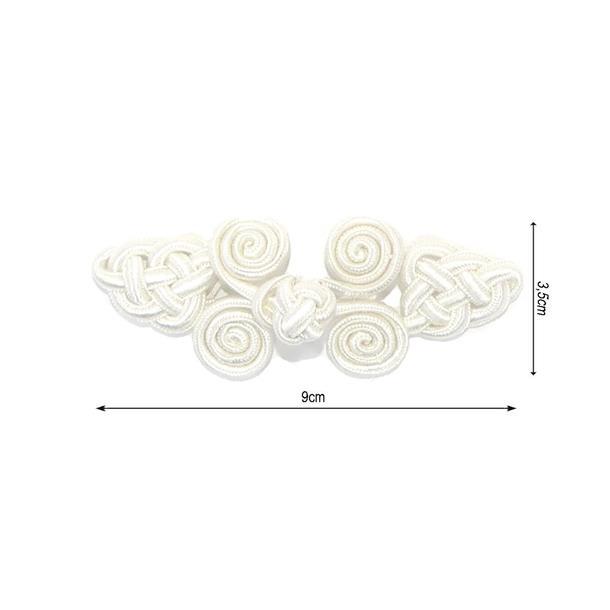 Alamar rayon 8,5x3cm.blanco