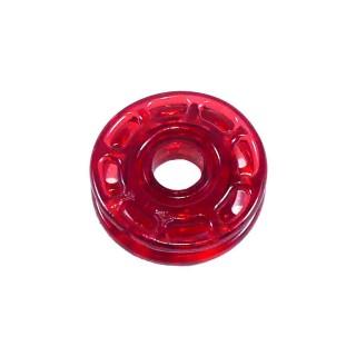 Broche automatico t/28 rojo