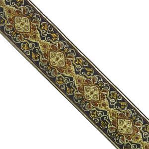 Cubrecosturas damasco 5cm.marr