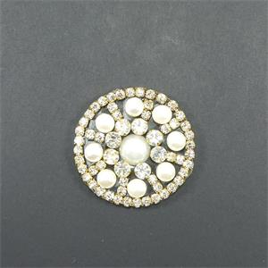 Aplique strass adhes.circulo