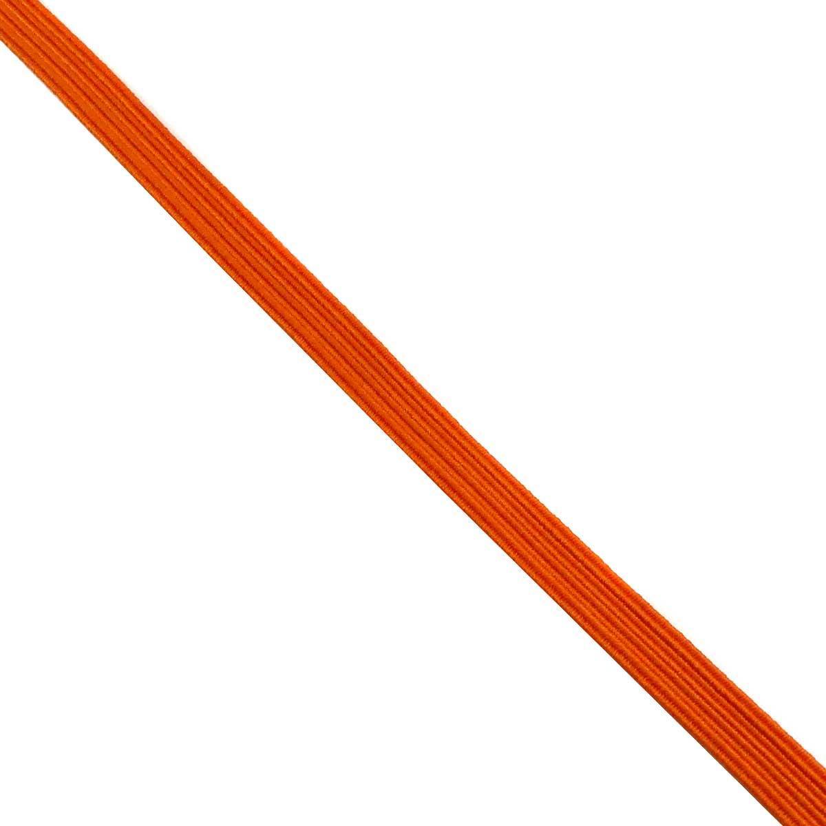Cordón de seda trenzado verde y morado 6mm