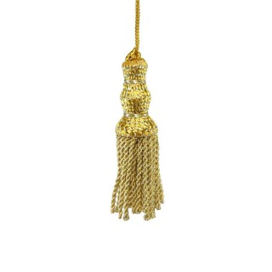 Borla corte honor 5cm. oro