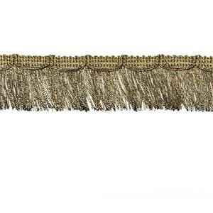 Fleco oro viejo 3,5 cm.