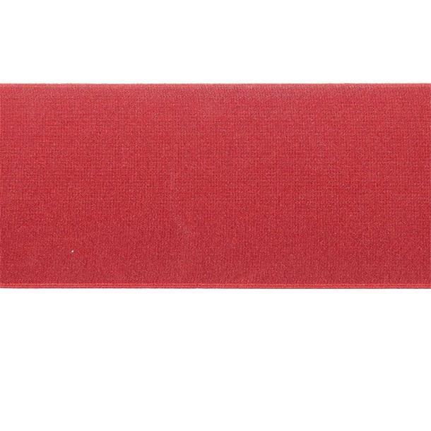 Cinta elastica 8cm. rojo
