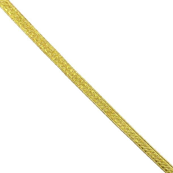 Galon metaliz.casaca 10mm.oro