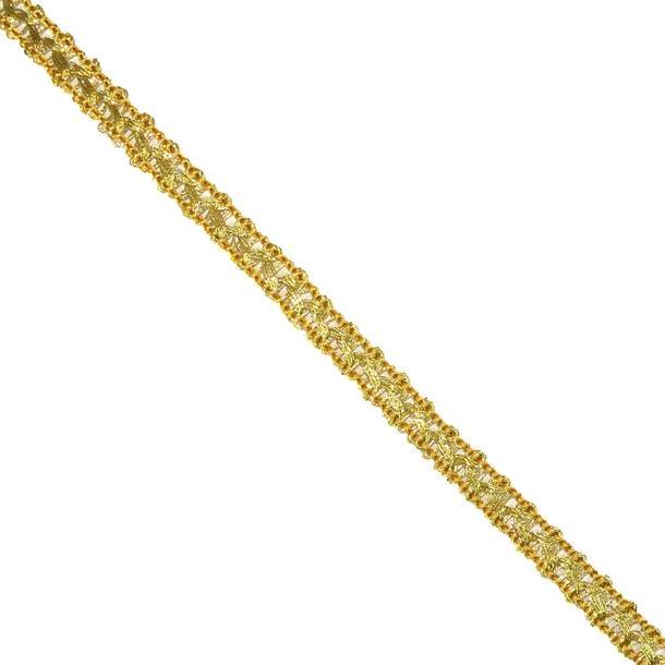 Galon metal oro