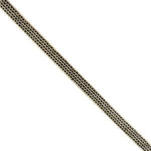 Galon metal cobre+marf. 1cm.