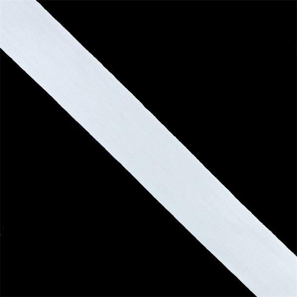 Cinta algodon nº4 blanco