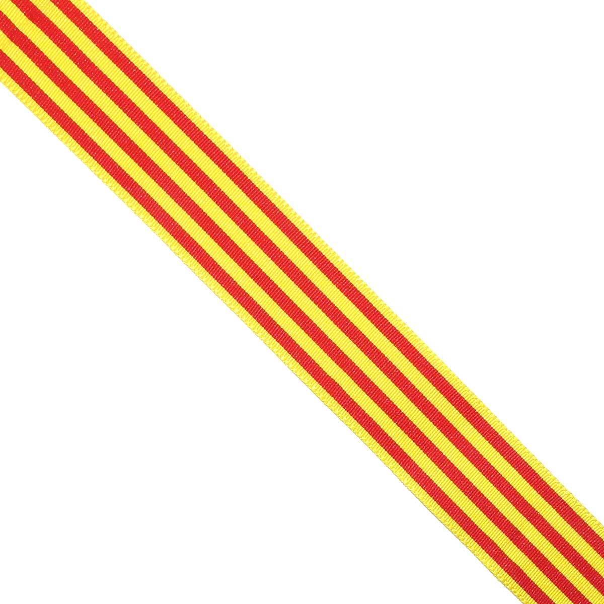 74cc05cbac696 Cinta bandera de Cataluña y Aragón. Varios tamaños