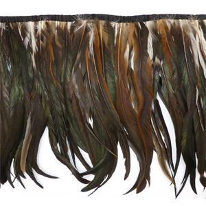 Fleco plumas 35cm. cola gallo