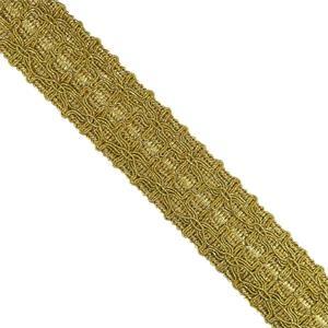 Pasamaneria dorado 35mm.