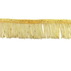 Fleco metalico 4cm. oro