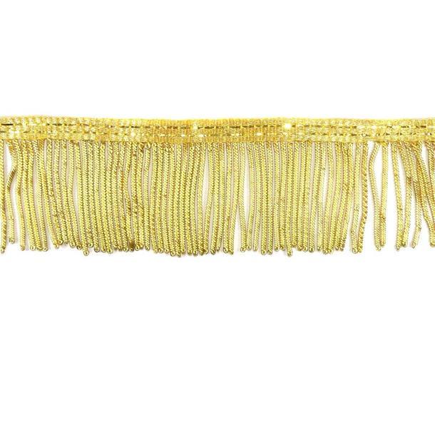 Fleco metalico 5cm. oro
