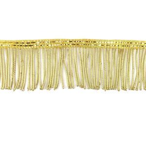 Fleco metalico 6cm. oro