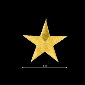Aplicac.estrella 5puntas oro