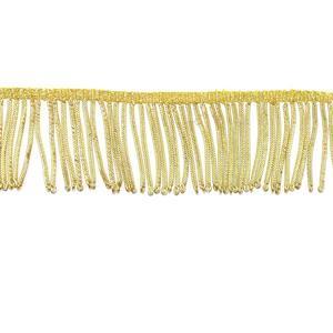 Fleco alambrillo oro 5cm.
