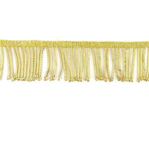 Fleco alambrillo oro 4cm.