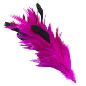 Ramillete plumas fuxia