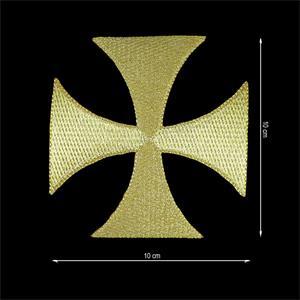 Aplic.termo cruz templar.oro