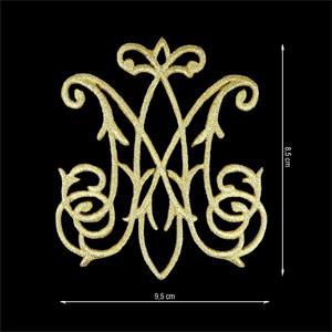 Aplic.termo maria 95x85mm.oro
