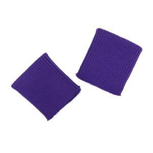 Puños elasticos acril. morado