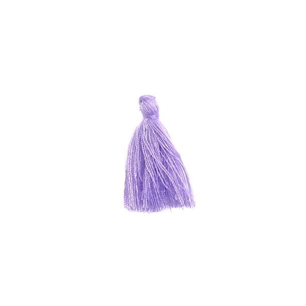Borla algodon 3cm.lila
