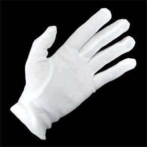 Guantes algodon t/m blanco