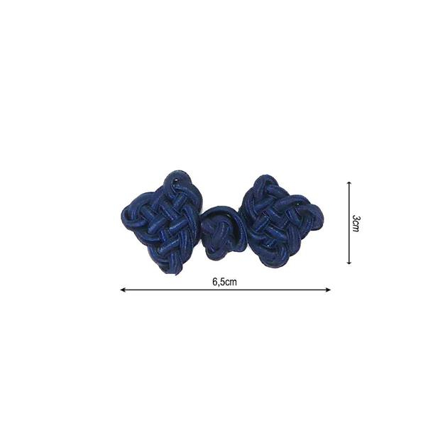 Alamar rayon 30x70mm.azul mari