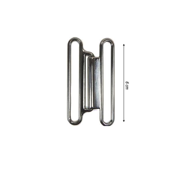 auténtico la mejor moda compra especial Broche metálico para cinturón 6cm sencillo