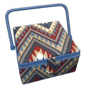 Costurero tapiz etnico