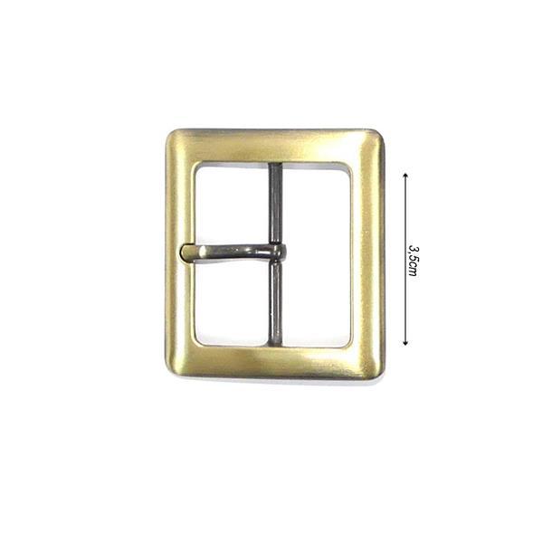 Hebilla rectang.oro vjo.35mm.