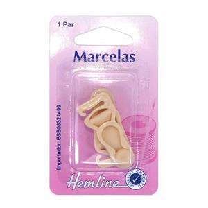 Marcelas beig 2 unidades