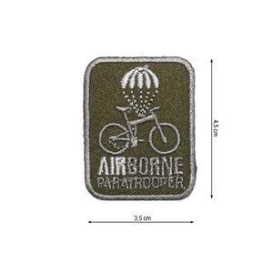 Parche airborne bici+paracaid
