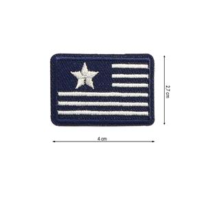 Parche termo bandera star+raya
