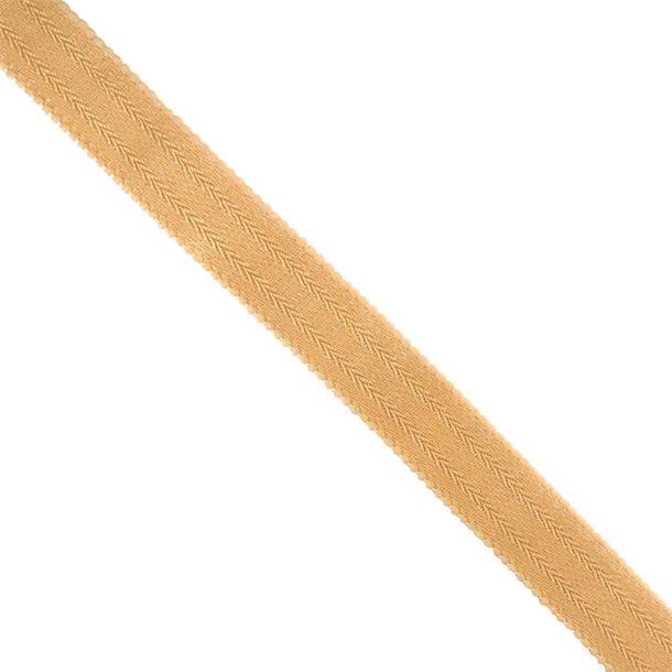 Goma tirante suj.beige  19mm.