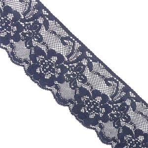 Puntilla nylon elast.7cm.marin
