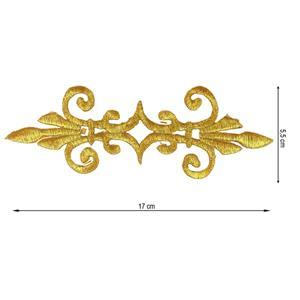 Aplicacion termo 16cm.oro