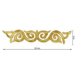 Aplicacion termo 24cm.oro