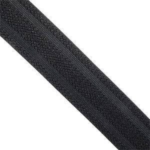 Goma cint.negro labrado 50mm.