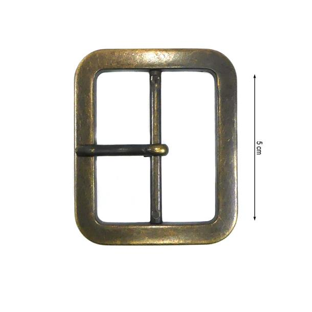 Hebilla metal 5cm. orovjo.