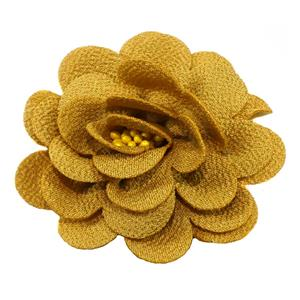Flor adorno tejido+pistilo mos