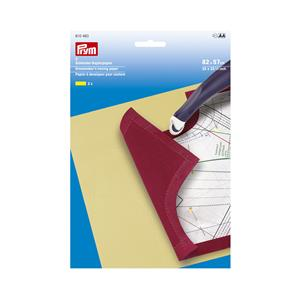 Papel calco amarill.82x57 2uni