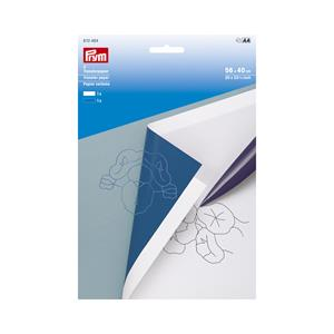 Papel calco blanco+azul 56x40